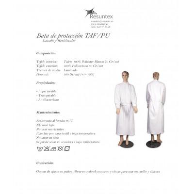 Bata de protección TAF/PU