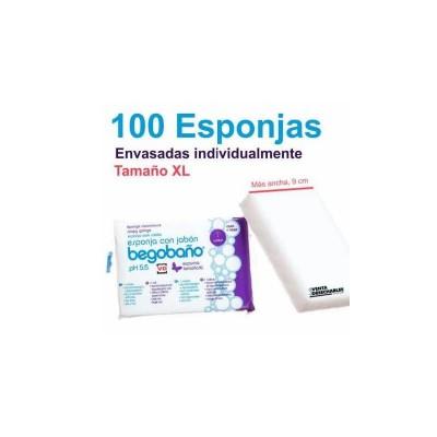 100 ESPONJAS JABONOSAS...